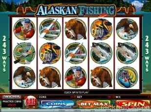 Alaskan Fishing 243 Ways microgaming