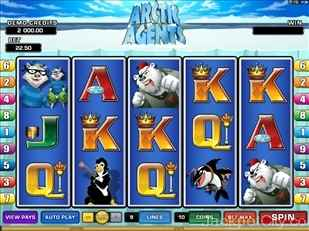 Arctic Agents Slot microgaming