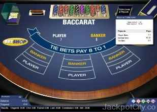 Baccarat chartwell