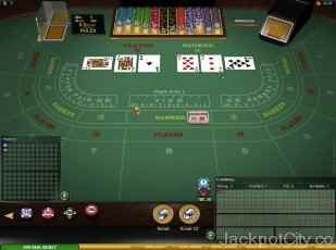 Baccarat Gold Series microgaming