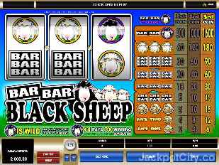 Bar Bar Black Sheep microgaming