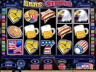 Bars and Stripes Slots microgaming