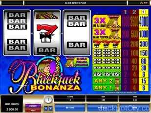 Blackjack Bonanza microgaming