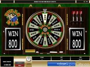 Bulls Eye Slots microgaming