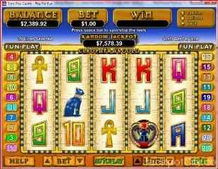 Cleopatra's Gold Slots - play free! rtg