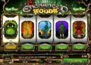 Enchanted Woods microgaming