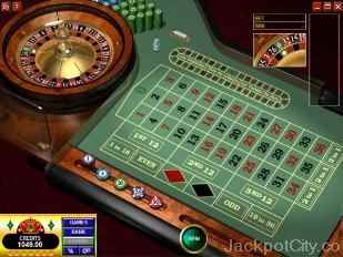 European Roulette (Gold) microgaming