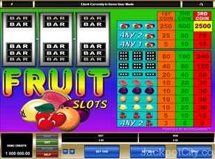 Fruit microgaming