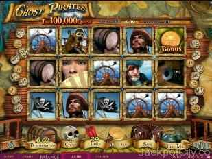 Ghost Pirates Slot skillonnet