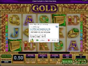 Gold microgaming