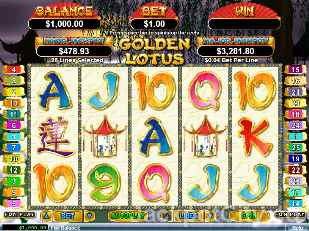 Golden Lotus Slots rtg