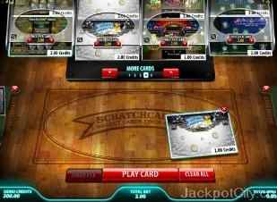 Instant Win Card Selector microgaming