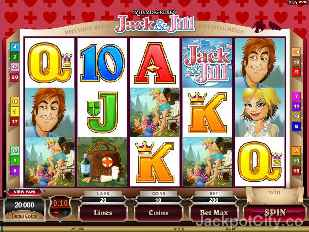 Jack and Jill Rhyming Reels Slot microgaming