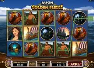 Jason and the Golden Fleece Slots microgaming