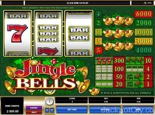 Jingle Bells Slots microgaming