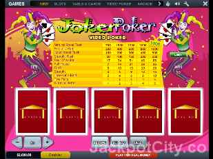 Joker Poker playtech