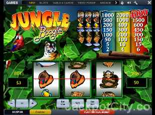 Jungle Boogie Slots playtech