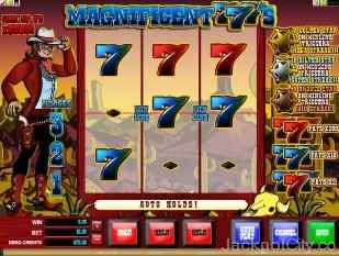Magnificent 777's Slots microgaming