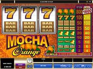 Mocha Orange microgaming