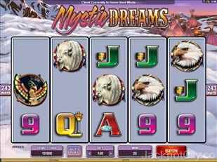 Mystic Dreams Slot microgaming