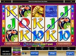 Oriental Fortune Slots microgaming