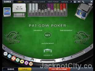 Pai Gow playtech