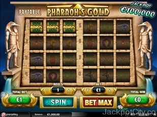 Pharaoh's Gold Slot pariplay
