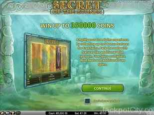Secret Of The Stones Slot netent