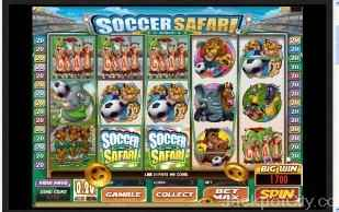 Soccer Safari microgaming
