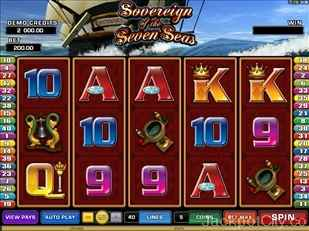 Sovereign of the Seven Seas Slots microgaming