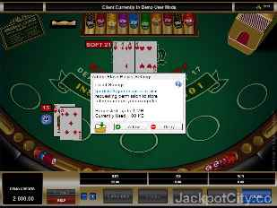 Spanish 21 Blackjack microgaming