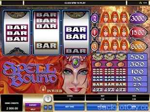 Spell Bound Slots microgaming