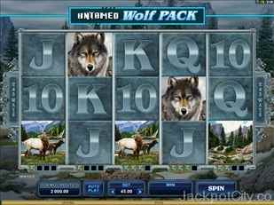 Untamed Wolf Pack Slots microgaming