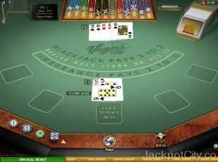 Vegas Strip Blackjack Gold microgaming