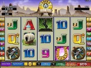 Western Frontier Slots microgaming