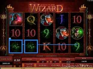 Path of the Wizard Slot genesis