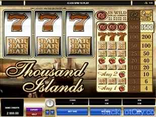 Thousand Islands Slots microgaming